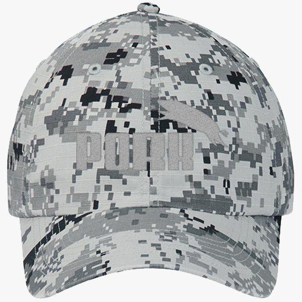 3166fb07 Pork Puma Ripstop Camouflage Cotton Twill Cap (Embroidered) - Customon