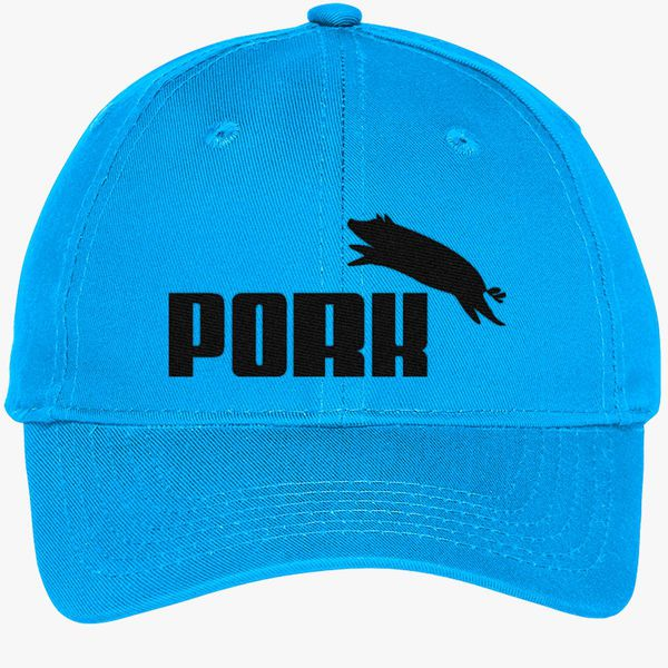 3ec28264 Pork Puma Youth Six-Panel Twill Cap (Embroidered) - Customon