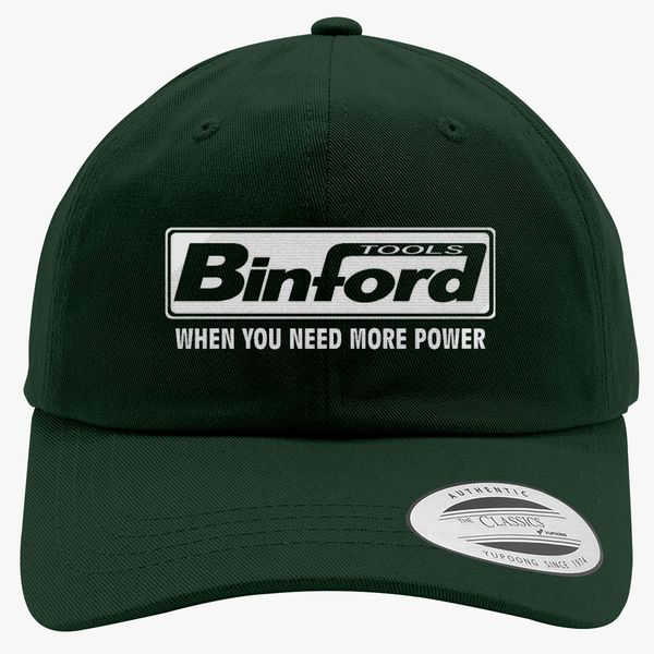 66abdf806d4b4 Binford Tools When You Need Power Cotton Twill Hat (Embroidered ...