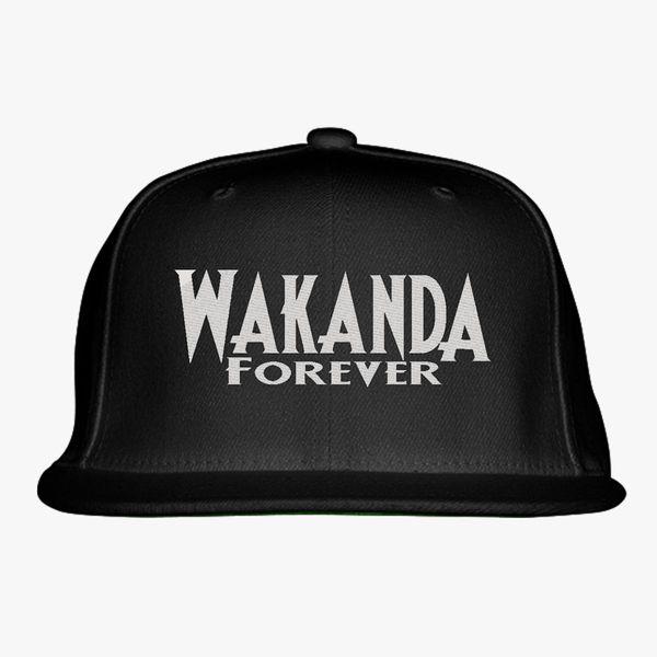 Wakanda Forever Snapback Hat (Embroidered)  cf23454dfdae