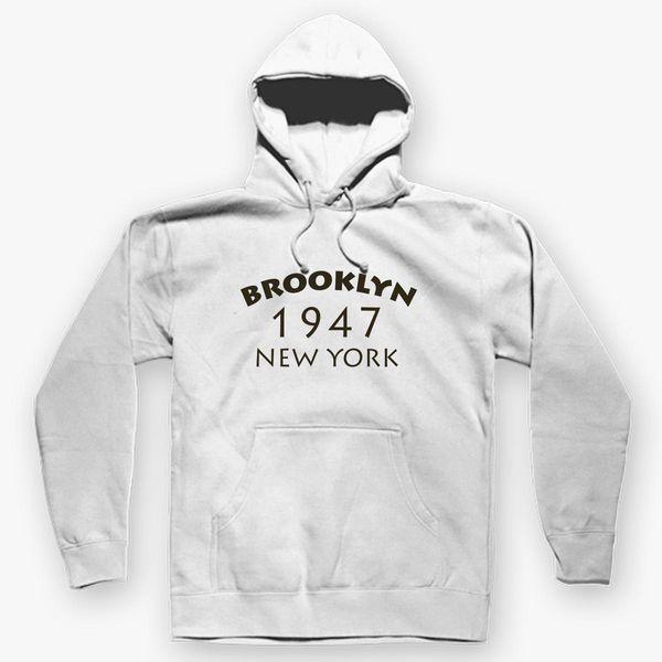 9e6a2b160 BROOKLYN 1947 NEW YORK Unisex Hoodie - Customon