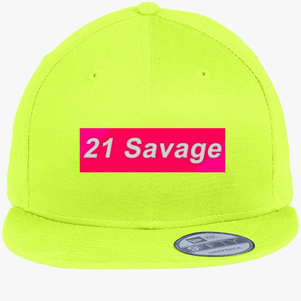 3867a5a283bf9 21 Savage New Era Snapback Cap (Embroidered) - Customon