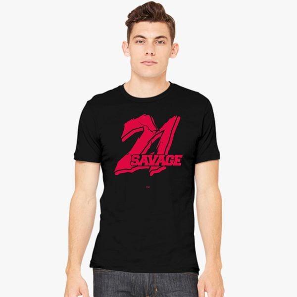 21 Savage Men S T Shirt Customon