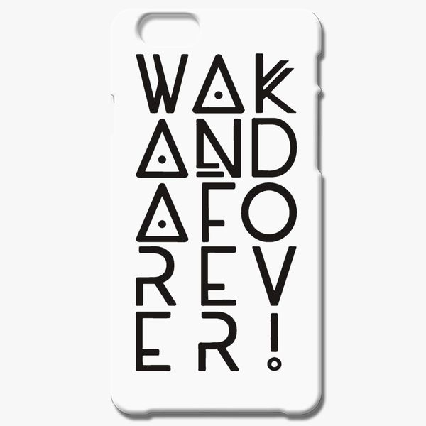 save off 4af13 1d83d wakanda forever iPhone 6/6S Plus Case - Customon