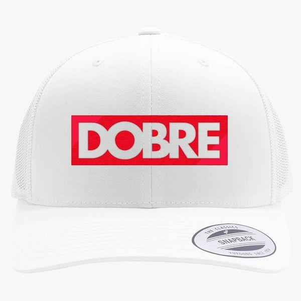 6b071ced5da88 Dobre Twins Dobre Brothers Retro Trucker Hat (Embroidered ...