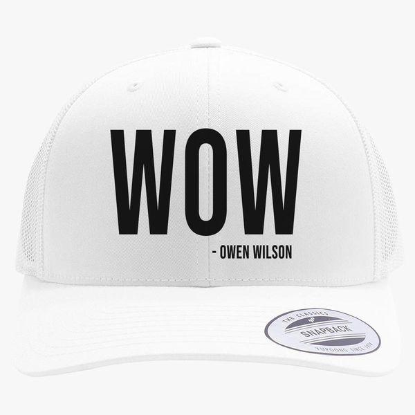 8c58833305c Owen Wilson Wow Retro Trucker Hat