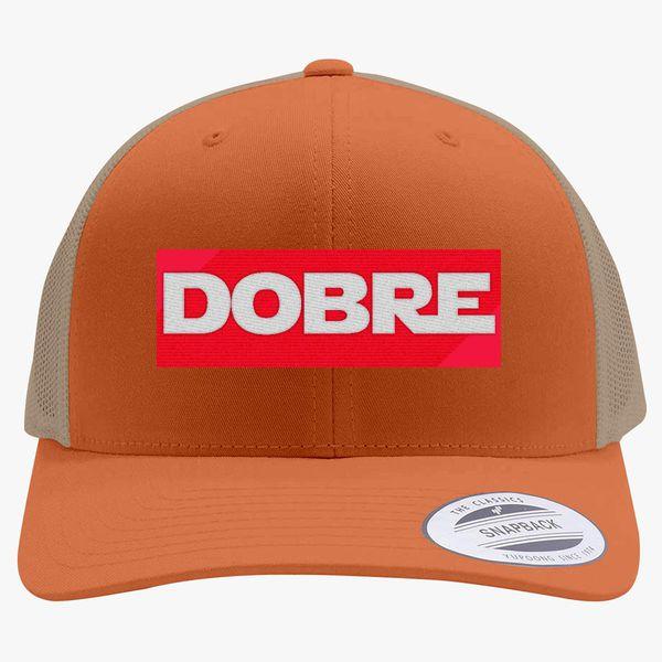 9565a82fc6c0a Dobre Twins Retro Trucker Hat (Embroidered) - Customon