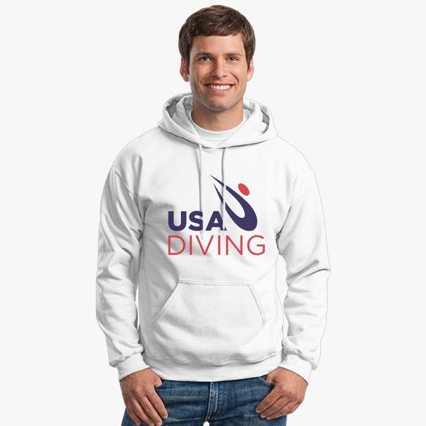 abb12bc4198 USA Diving Logo Unisex Hoodie - Customon