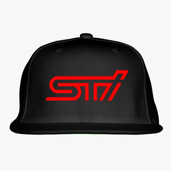 16175efc Subaru sti logo Snapback Hat (Embroidered) - Customon