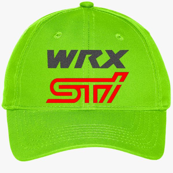 176869607 Subaru wrx sti logo Youth Six-Panel Twill Cap (Embroidered) - Customon
