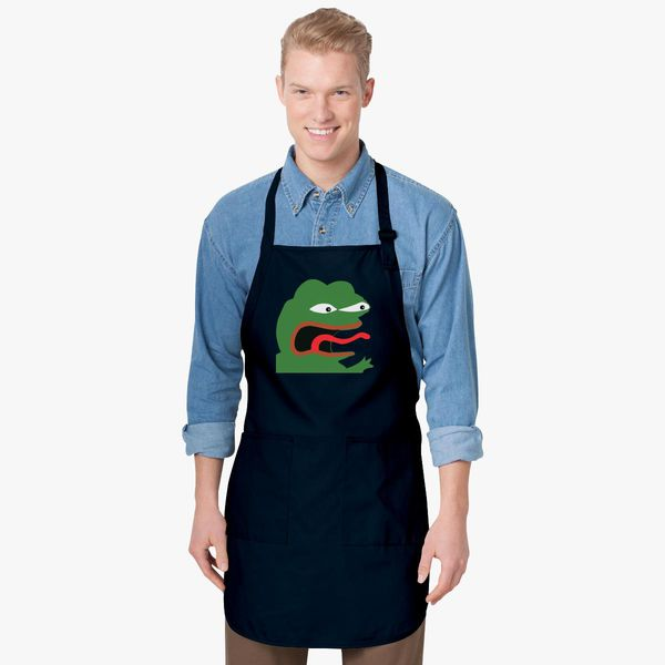 Pepe The Frog Apron Customon