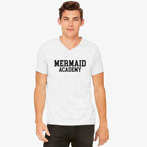 39df04b72 Mermaid Academy V-Neck T-shirt - Customon