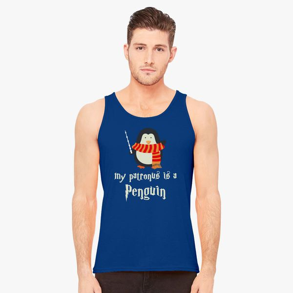 My Patronus is a Penguin Hot Men's Tank Top - Customon