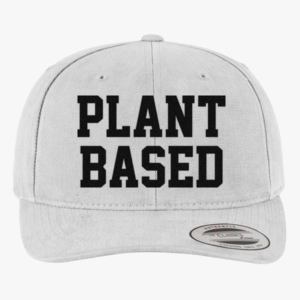 c7ad3fc0 Plant Based Brushed Cotton Twill Hat (Embroidered) - Customon