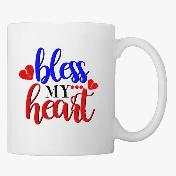 CHD Awareness Bless My Heart Coffee Mug - Customon