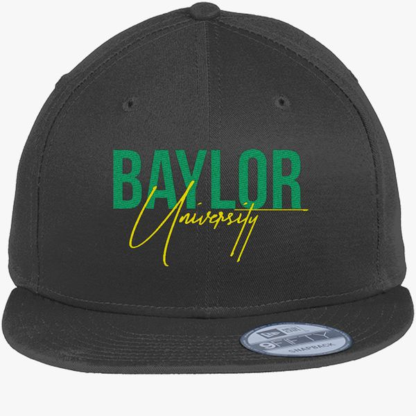 save off 3e0fa dceed top quality baylor university new era snapback cap embroidered customon  290a7 54688