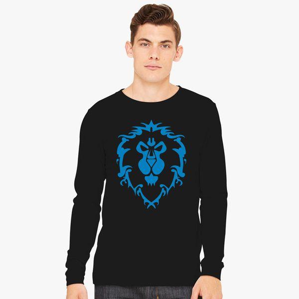 4b7e2564d World of Warcraft Alliance Logo Long Sleeve T-shirt - Customon