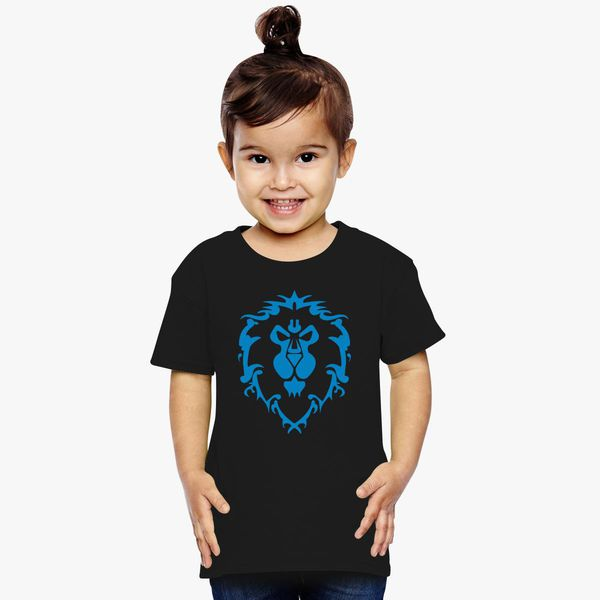 f43531ed9 World of Warcraft Alliance Logo Toddler T-shirt - Customon