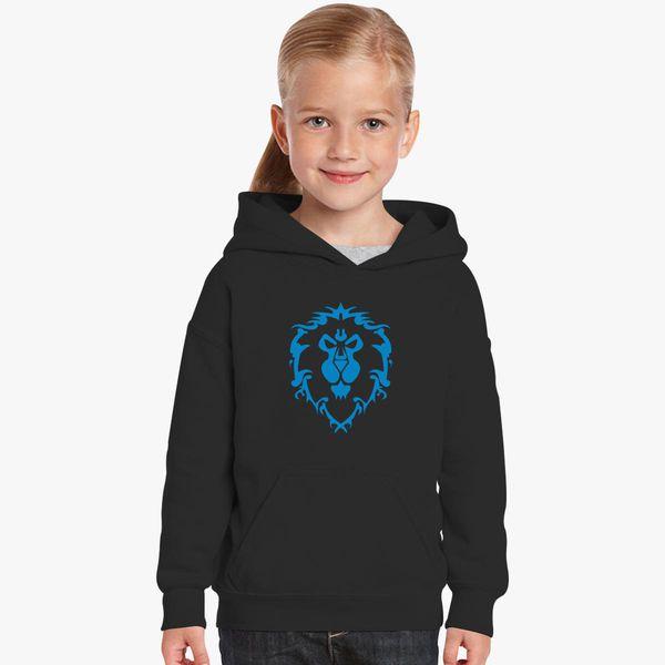 31780d6a5 World of Warcraft Alliance Logo Kids Hoodie - Customon