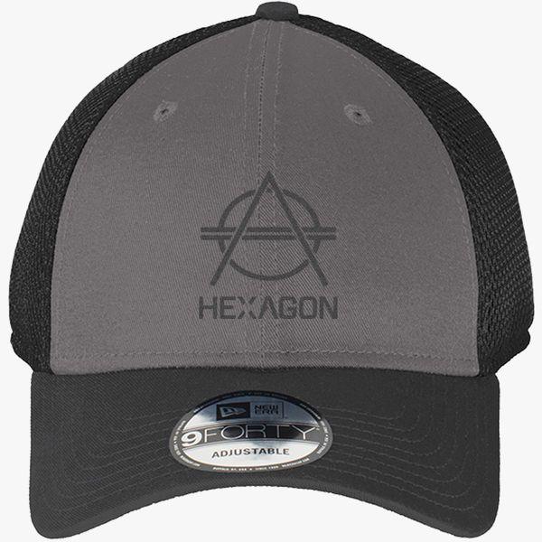 8ea84ab9 hexagon Don Diablo New Era Baseball Mesh Cap (Embroidered) - Customon.com