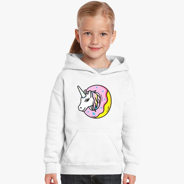 2cae3afca650 Donut Unicorn Kids Hoodie - Customon