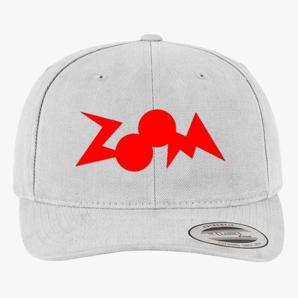 aa70b5be zoom logo Brushed Cotton Twill Hat (Embroidered) - Customon