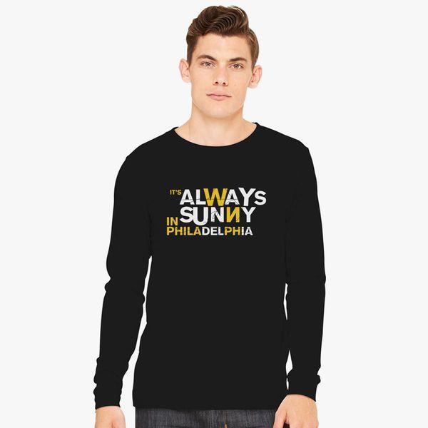 It S Always Sunny In Philadelphia Logo Long Sleeve T Shirt Customon