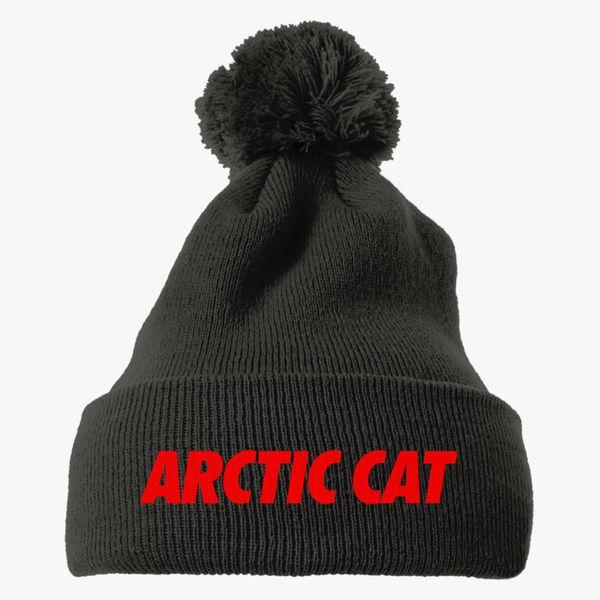 159f6133e37 Arctic Cat Knit Pom Cap - Customon