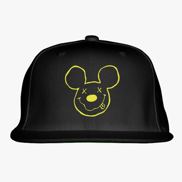 5cb18af5d29 nirvana mickey Snapback Hat - Embroidery Change style