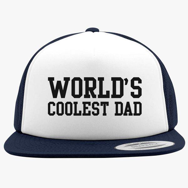 d8eddf7fa3d04 World s Coolest Dad Foam Trucker Hat - Customon