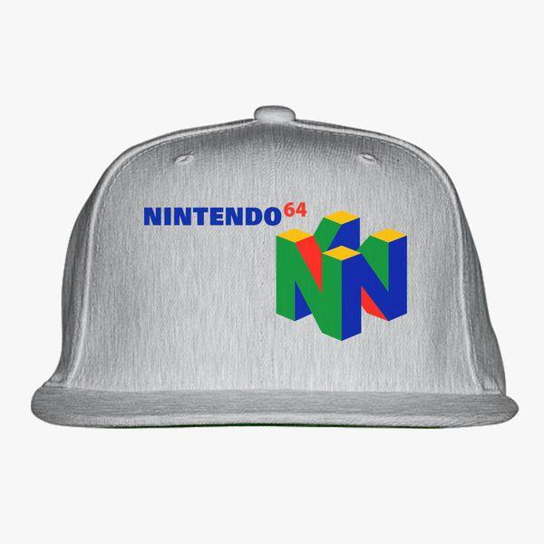 911b7bf7 Nintendo 64 Snapback Hat - Customon