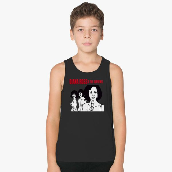 ba67cdbd79d0 Diana Ross and The Supremes Kids Tank Top - Customon