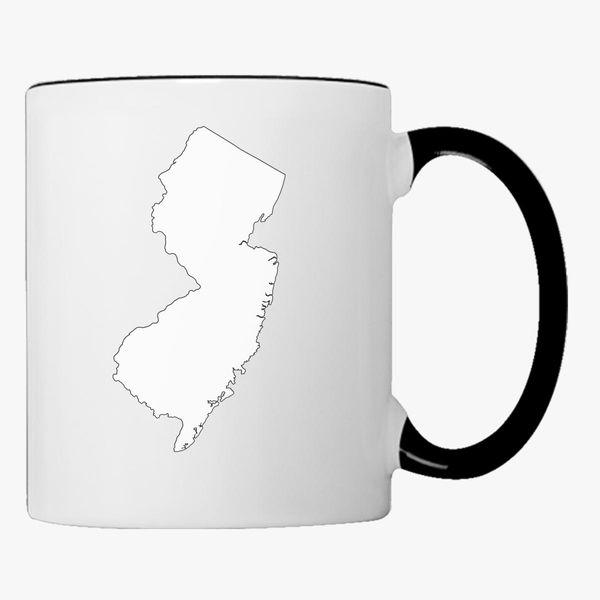 Buy NJ Map Coffee Mug, 14487