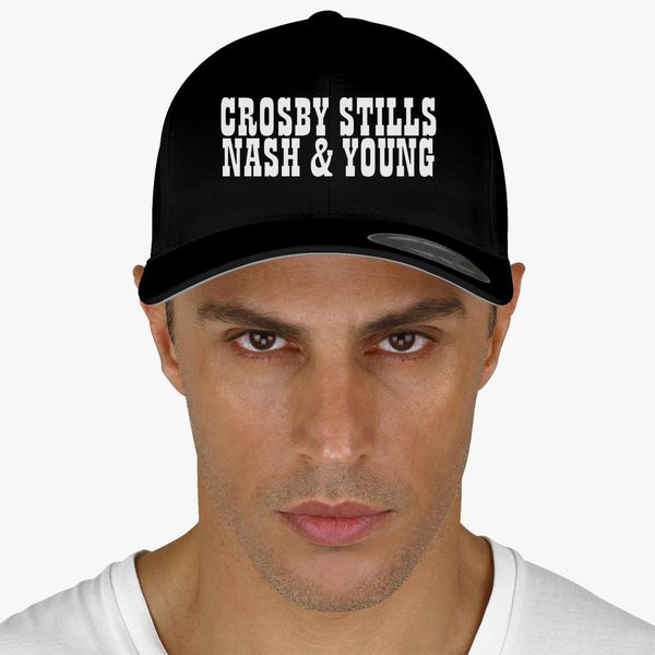 8c76a4308534c Crosby Stills and Nash Baseball Cap - Customon