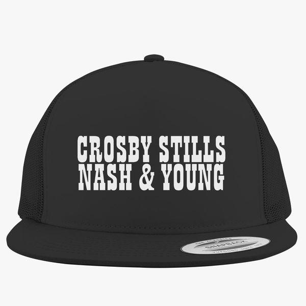 5c0925906a1e3 Crosby Stills and Nash Trucker Hat - Customon
