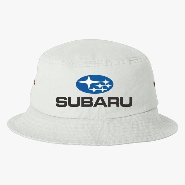 ef00b2c0ed582 subaru logo Bucket Hat (Embroidered) - Customon