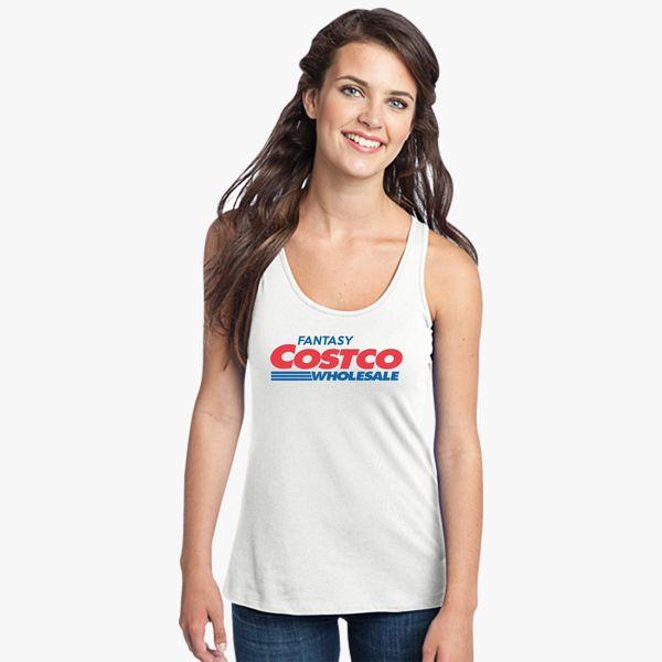 c11f28e7d0d5b Fantasy Costco Women s Racerback Tank Top - Customon