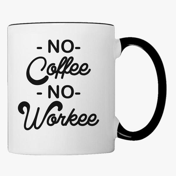 Buy coffee, Workee Coffee Mug, 146553