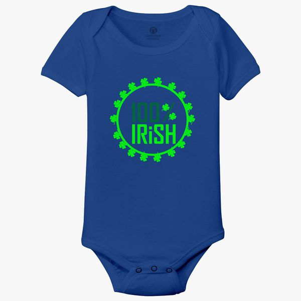 a1559ffdb 100% IRISH Baby Onesies - Customon