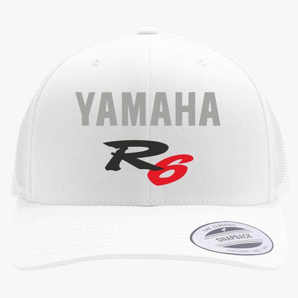 2fadfb0c Yamaha R6 Logo Retro Trucker Hat - Customon