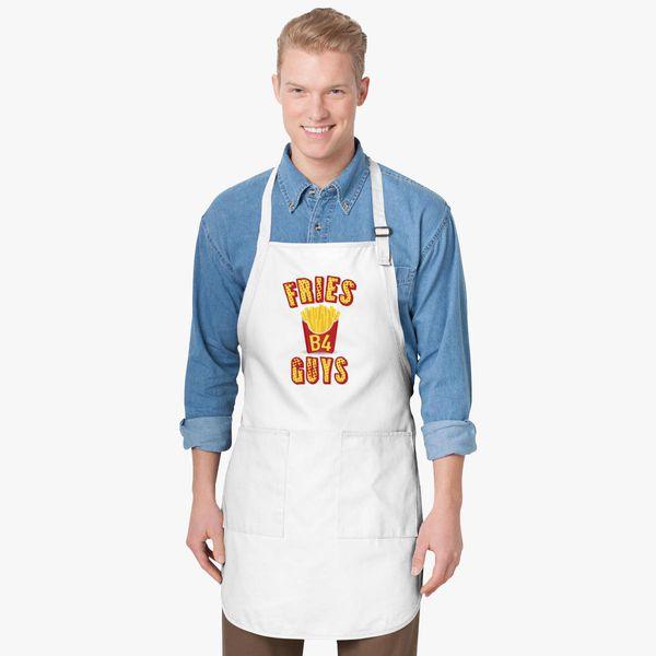 0f4f6154c9c05 Fries before guys Apron - Customon