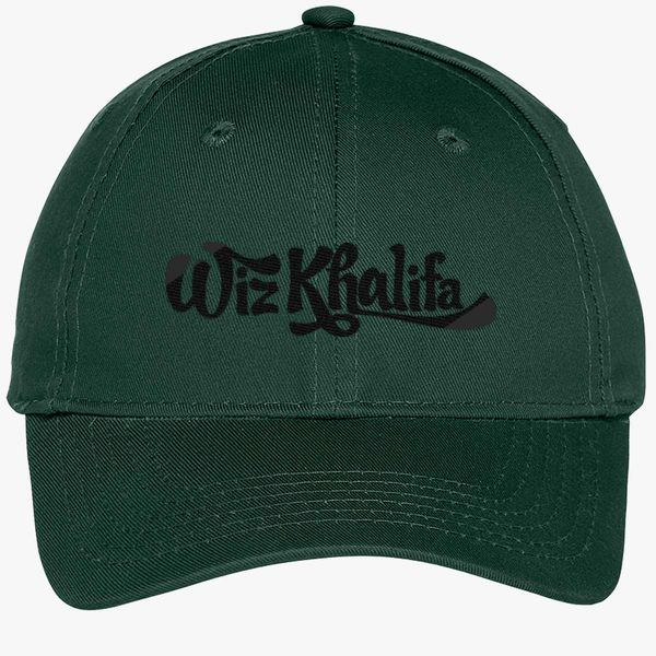 Wiz Khalifa Youth Six-Panel Twill Cap (Embroidered)  38e57d13bcc