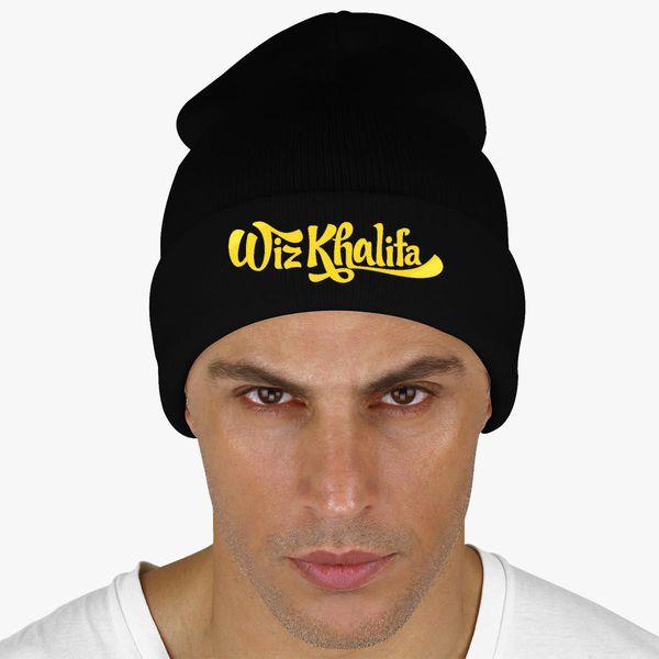 Wiz Khalifa Knit Cap (Embroidered)  7993cacd1ed