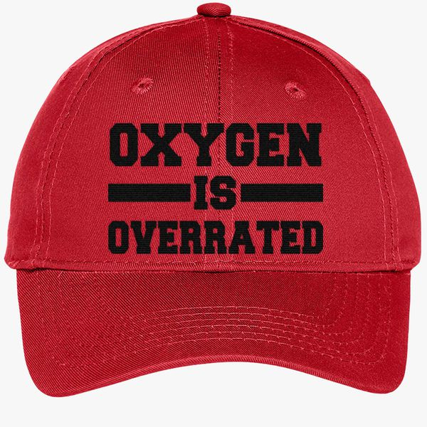 c0027a629 Oxygen Is Overrated Youth Six-Panel Twill Cap (Embroidered ...