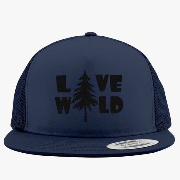 da9509d8b0b Live-wild Trucker Hat (Embroidered) - Customon