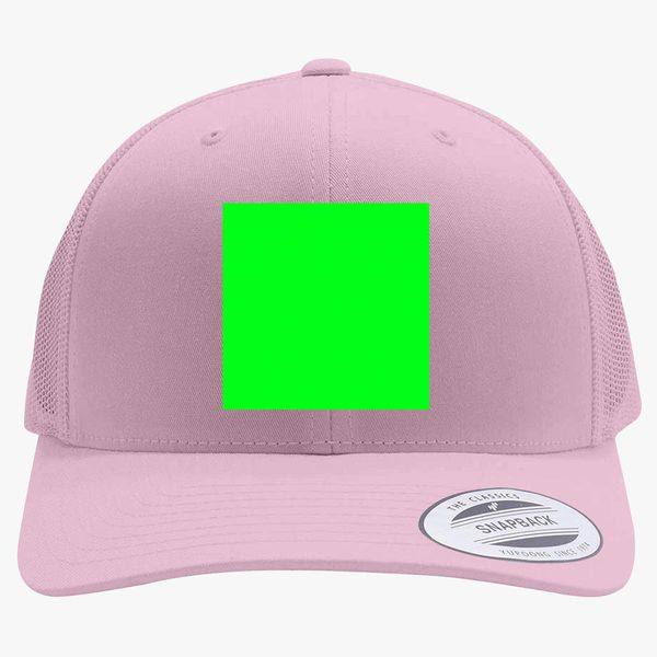 Greenscreen To Edit After Effects Photoshop Retro Trucker Hat (Embroidered)  - Customon