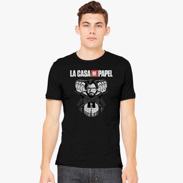 La Casa De Papel Men s T-shirt - Customon.com 334eeb22937