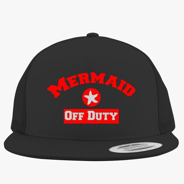 e8cc734da1f66 Mermaid Off Duty Trucker Hat (Embroidered) - Customon
