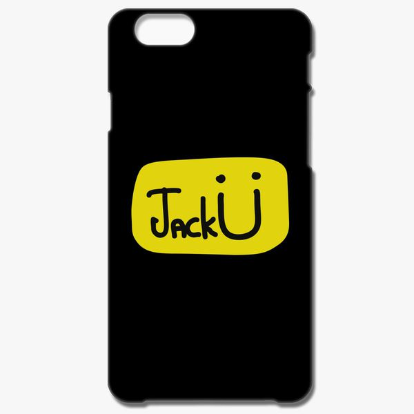 Jack U black Yellow iphone case