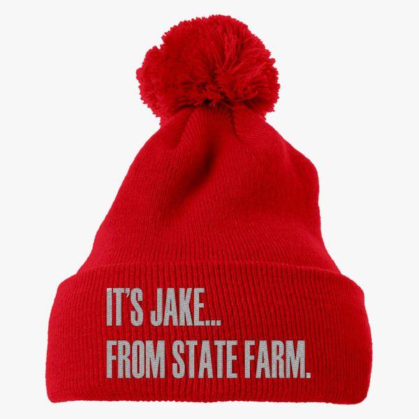 6c263144493 It s Jake Knit Pom Cap (Embroidered) - Customon